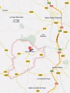 Présentation de la Commune de Fau de Peyre en Lozère