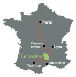 Terre de Peyre - Carte France Lozère