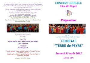 Chorale Terre-de-Peyre